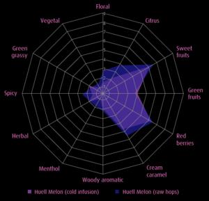 Huell_Melon_Aroma_Wheel